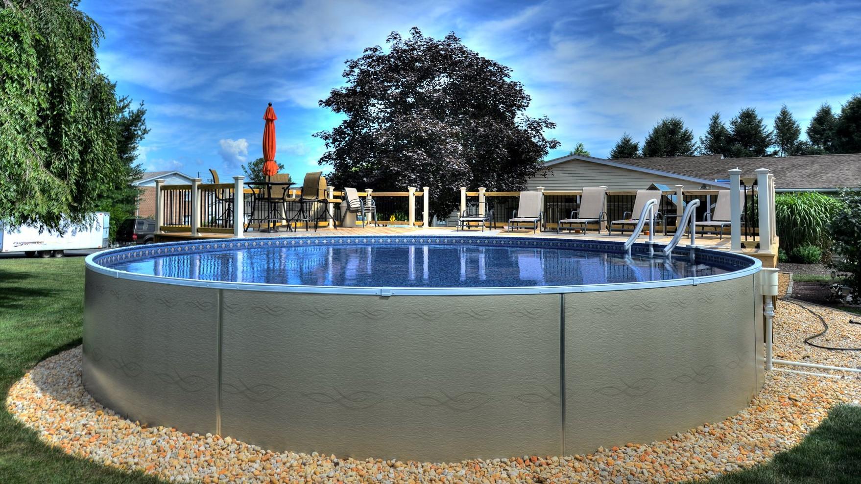 Home Radiant Pools, Radiant Semi Inground Pool Reviews
